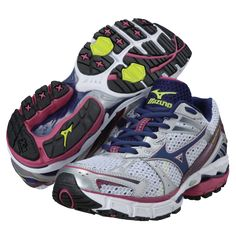 Mizuno Women's Wave Inspire 8 Running Shoes...great for overpronaters and won a Best for Stability award from Shape Shoe Awards.