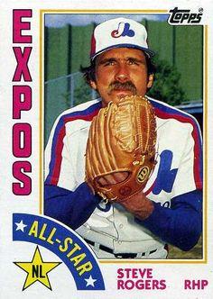 Steve Rogers their greatest starting pitcher. Expos Baseball, Baseball Cards, Montreal, National League, Steve Rogers, Golden Age, All Star, Mlb, Athlete