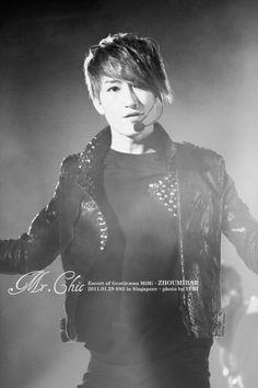 Super Junior's Zhoumi.