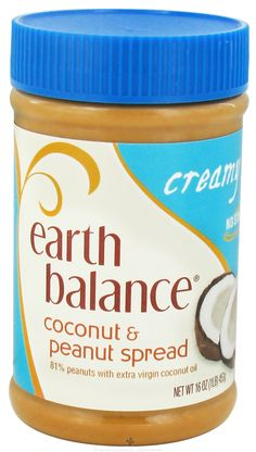 Earth Balance Coconut & Peanut Spread - Just tried this for the first time and its really good! Better than regular peanut butter!