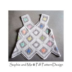 Ravelry: Dot in Granny Square Top pattern by Sophie and Me-Ingunn Santini