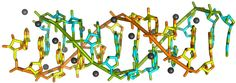 RNA double helix structure identified using synchrotron light