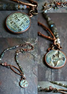 2012 Innovation Team Member, Erin Prais Hintz does beautiful work with polymer clay and the Nunn Design Patera Bezels.