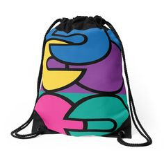 Pop Colors Drawstring Bag