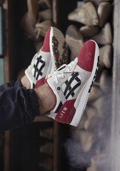 AFEW × ASICS #asics #sneakers #gellyte