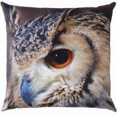 By Nord Owl Cushion from Skandivis Duvet, Bedding, Owl Cushion, Owl Pillow, Pillow Talk, Owl Photos, Printed Cushions, Scandinavian Interior Design, Owl Print