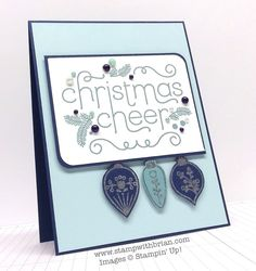 Cheerful Christmas, Stampin' Up!, Brian King, MM134