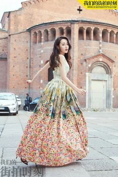 Dilraba is a Princess Asian Fashion, Girl Fashion, Fashion Show, Fashion Looks, Hijab Fashion, Korean Beauty, Asian Beauty, Chinese Actress, Bae Suzy