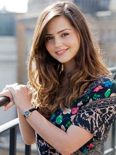 Jenna-Louise Coleman. She is so beautiful!!!
