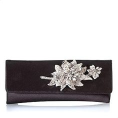 Judith Leiber little black clutch
