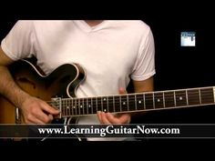 Slow Blues Guitar Lesson