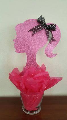 Resultado de imagem para centro da mesa da Barbie