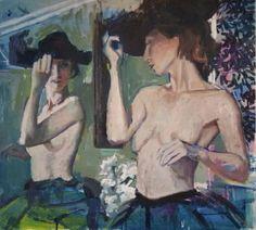 "Saatchi Art Artist Belinda Wilson; Painting, ""tango reflection"" #art"