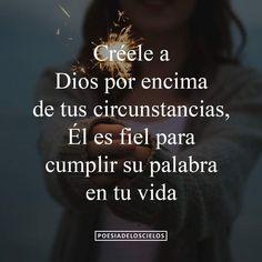 Creele a Dios