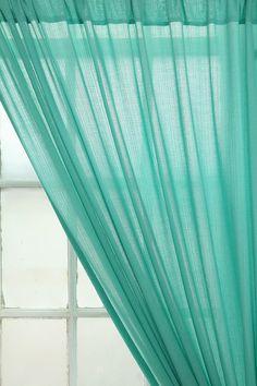 gauze curtains living room