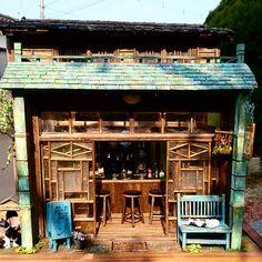 Cofee Shop, Coffee Shop Bar, Coffee Store, Coffee Carts, Cafe Bar, Cafe Restaurant, Restaurant Design, Ramen House, Asian Store
