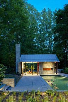 Robert Gurney Architect : Garden Pavillon with Chimney | Sumally