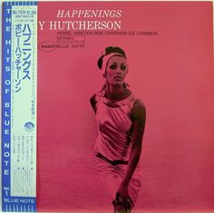 BOBBY HUTCHERSON / HAPPENINGS / BLUE NOTE / SPIRITUAL JAZZ / TOSHIBA JAPAN OBI