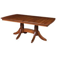 The Baytown Extension Dining Table is made of solid hardwoods. Seat up to 20 people with this extension table! Made in the USA by Amish Craftsmen.