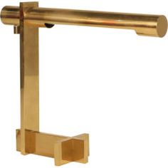 Polished Brass Cantilevered Desk Lamp by Casella