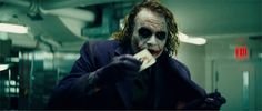 Heath Ledger joker gif | Dark Knight Joker