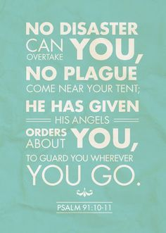 Psalm 91 - calming my Ebola fear