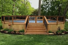 Above Ground Pool Landscaping, Backyard Pool Landscaping, Backyard Patio Designs, Landscaping Ideas, Pergola Designs, Landscaping Plants, Above Ground Swimming Pools, Swimming Pools Backyard, In Ground Pools