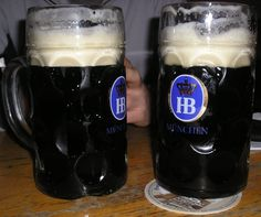 Hofbrauhaus, Munich Germany... mmmm.. Dunkel