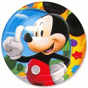 Find mickey mouse clubhouse dessert plates at Birthday Direct  sc 1 st  Pinterest & Mickeyu0027s Clubhouse Dessert Plate | Mickeyu0027s Clubhouse Birthday ...