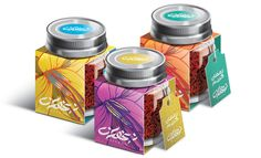Saffron on Behance Spices Packaging, Jar Packaging, Coffee Packaging, Beauty Packaging, Brand Packaging, Packaging Design, Tea Design, Label Design, Biodegradable Packaging