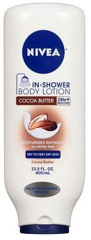 Nivea Cocoa Butter In-Shower Body Lotion - 13.5 oz