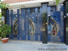 1 new message Front Door Design Wood, Front Gate Design, Steel Gate Design, House Gate Design, Main Gate Design, Door Gate Design, Gate House, Door Design Images, House Design Pictures