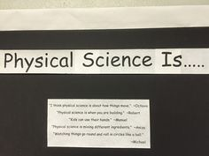 Create natural moments for science learning...it's all around us!