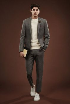 Men Suits with Sneakers (28)