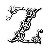 Celtic Letra Z