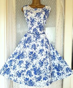 BRAND NEW! MONSOON FLORENCE Blue White Floral Cotton Occasion Dress UK 22  https://t.co/2LzAkKITzu https://t.co/0DPpvnmX6W
