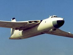 The Vickers-Armstrongs Valiant was part of the RAF's V bomber nuclear force in the and Navy Aircraft, Ww2 Aircraft, Military Jets, Military Aircraft, Vickers Valiant, Helicopter Cockpit, V Force, War Jet, Nuclear Force