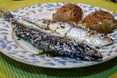 Receta de sardinas a la sal preparadas en thermomix al vapor, dentro del…
