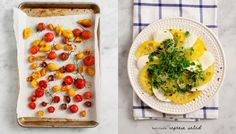 Symmetry and balance: OR an alternative approach to composing a food photo is simply to place the subject in the centre, with equal space on both sides.