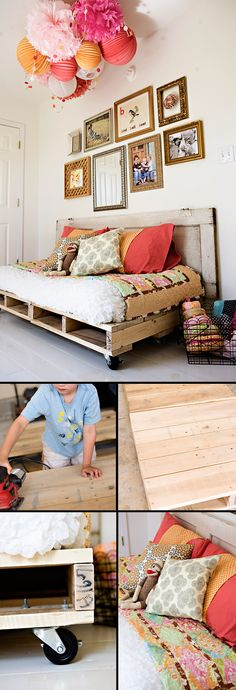 Pallet Reading Bed