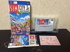 SimCity Jr. Super Famicom Japan NTSC-J boxed Nintendo