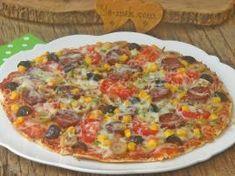 Bazlamadan Kolay Pizza
