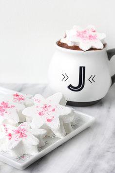 DIY EATS | Snowflake Marshmallows | I SPY DIY