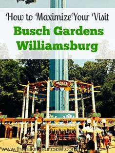Are you planning to visit Busch Gardens Williamsburg?  Learn how to maximize your visit to make the most of your time and money.  I've been to Busch Gardens multiple times per year since I was a toddler, so I've definitely learned a few tricks.