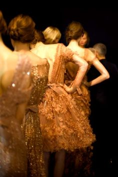 e-therealme:  kurkova:  Elie Saab Backstage - Degas Revisited  http://e-therealme.tumblr.com