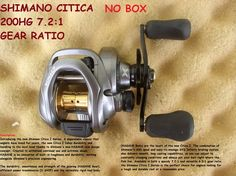 SHIMANO CITICA 200HG 7.2:1 GEAR RATIO NEW NO PACKAGING