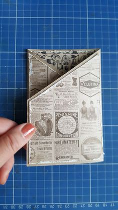 HobbyVision Creative Crew: Hints scrap `n chat 14 juni Fancy Fold Cards, Folded Cards, Card Making Tutorials, Craft Tutorials, Halloween Spell Book, Old Book Crafts, Album Scrapbook, Diy Crafts For Girls, Pen Pal Letters