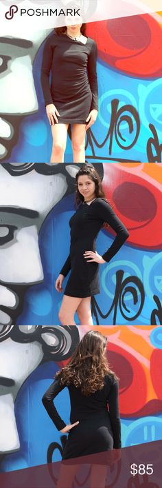 Kate Spade Saturday Black Asymmetrical Dress Kate Spade Saturday Black Asymmetrical Dress kate spade Dresses Long Sleeve