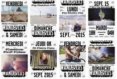 Wanderlust - Saison 2015 - Les Graphiquants
