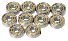 #Skateboard scooter roller #blade #wheel ball bearings abec-5 608-zz 8mm 22mm 7mm,  View more on the LINK: http://www.zeppy.io/product/gb/2/271299995280/